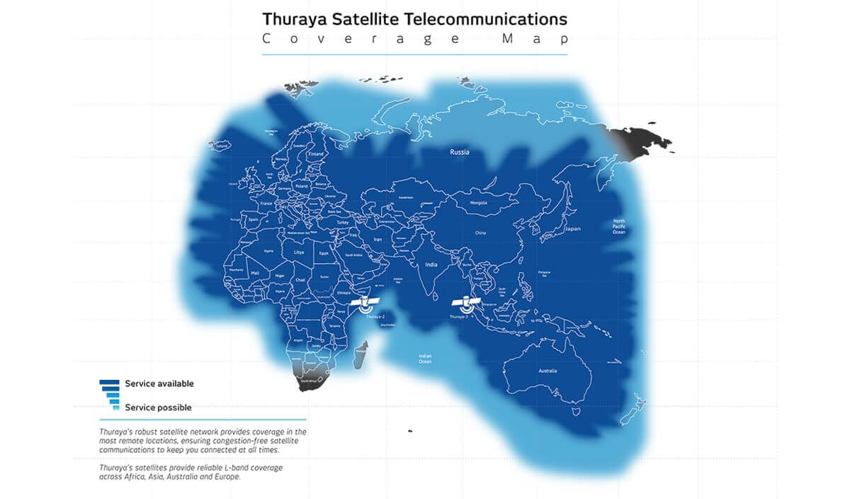 Thuraya Coverage | Xtra Link